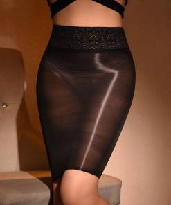 Sexy Women Skirt Sheer Tight Micro Mini
