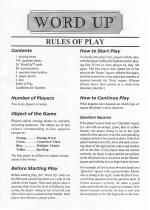 Word Up Rules of Play