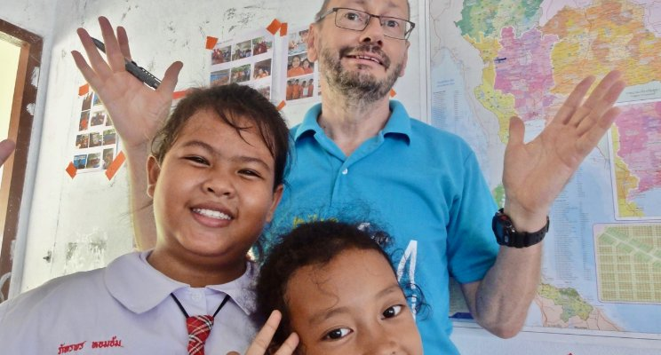 Dr Ian Reide shared his wisdom on teaching English with TEFL International Cambodia
