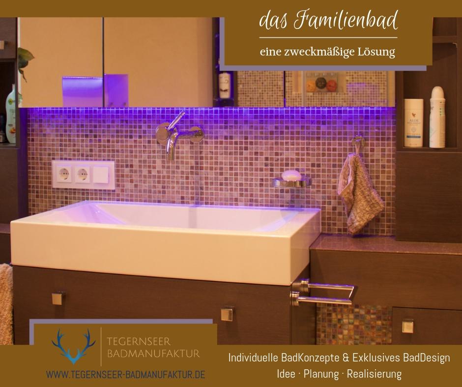 ein Badezimmer für die Familie