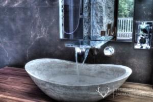 Waschtisch Travertin