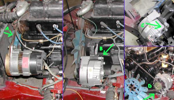 Delco Alternator Wiring Diagram On Simple Chevy Alternator Wiring