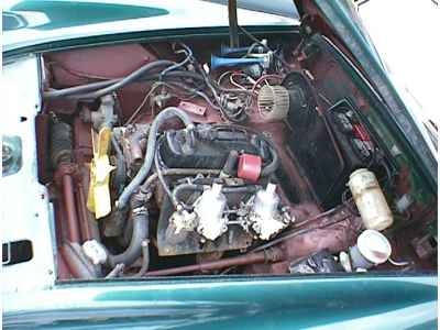 Sand Car Wiring Diagram 1973 Mg Midget Engine Compartment And Drivetrain