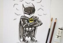 Batman mini karikatur