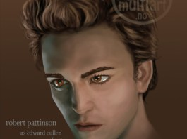 Robert Pattinson portrait