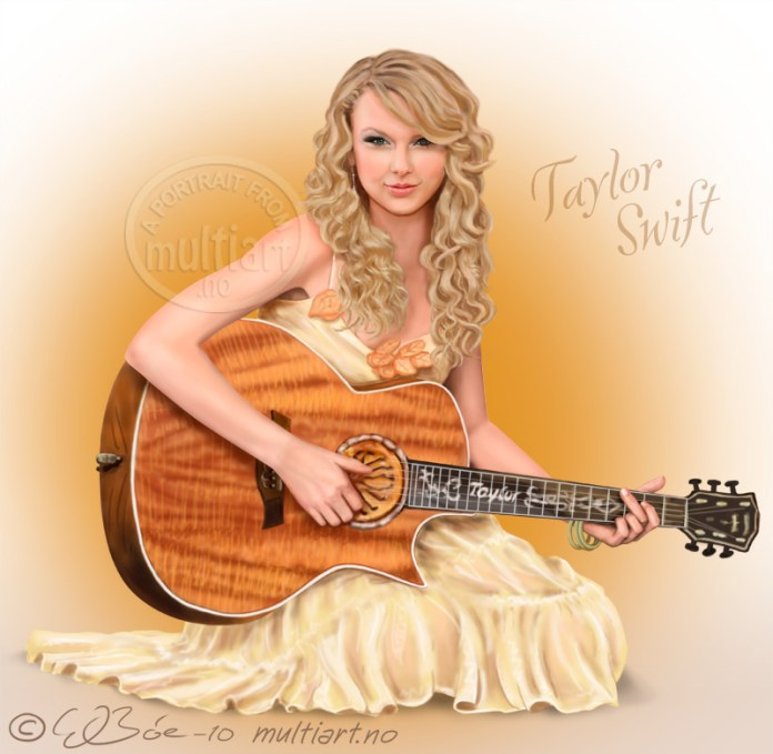 Taylor Swift portrait