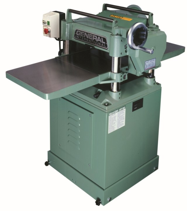 "General International 30-125HCM1 15"" Planer 3 HP with Helical ..."