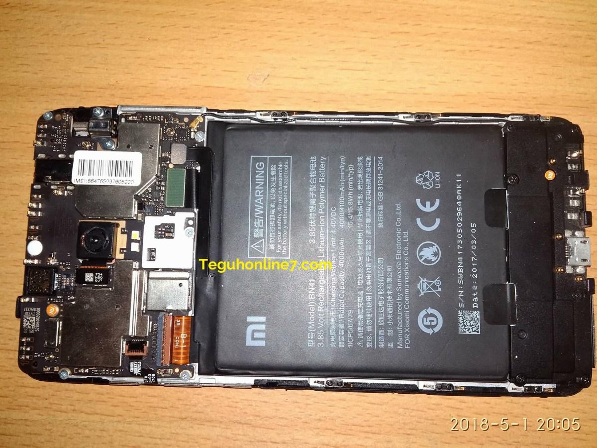 Install Custom Rom di Xiaomi Redmi Note 4 MTK