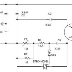Ac Motor Wiring Diagram Capacitor Ct90 Speed Control Circuit For A Small Asynchronous Induction