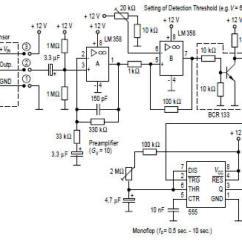 Light Sensitive Switch Circuit Diagram Eye Anatomy Vintage Microwave Sensor