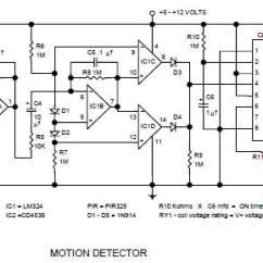 Pir Switch Wiring Diagram 240 Volt Plug Circuit Toyskids Co Motion Sensor