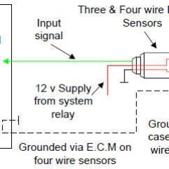 Bosch 4 Wire Oxygen Sensor Wiring Diagram Fujitsu Ten