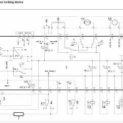Whirlpool Washing Machine Wiring Diagram Freightliner Brake Light Zanussi-electrolux Service Manual Error Code Circuit Schematic ...