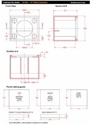 Fane Speaker Box