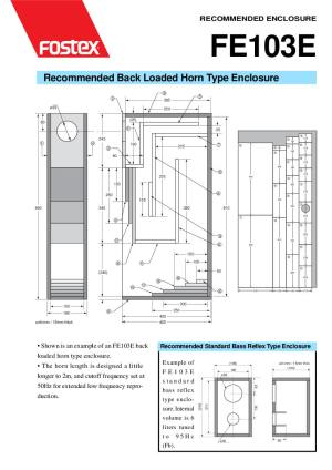 Fostex Speaker horn Box enclosure design diy how to building subwoofer box projects loudspeaker