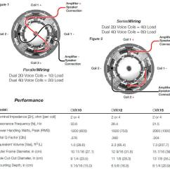 Parallel Speaker Wiring Diagram Whelen 9m Kicker Subwoofer For Sale Price