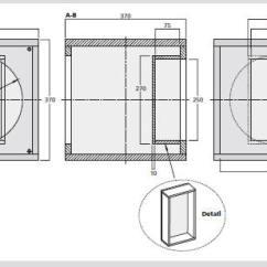 Active Crossover Wiring Diagram Rheem Gas Furnace Monacor Subwoofer Speakers Box Enclosure Design