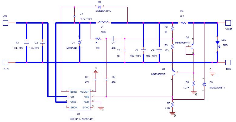 12V or 24Vin DC Constant Current Car LED Driver circuit diagram?resize\\\\\\\=665%2C345 car 12v led wiring diagram light wiring diagram, photocell relay 12v wiring basics at creativeand.co