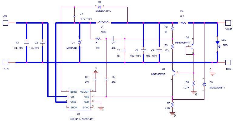 12V or 24Vin DC Constant Current Car LED Driver circuit diagram?resize\\\\\\\=665%2C345 car 12v led wiring diagram light wiring diagram, photocell relay 12v wiring basics at gsmx.co