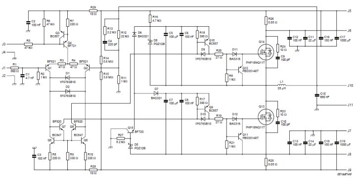 For Sa 200 Wiring Schematics 200w Class D Amplifier Schematics Free Electronic Circuits