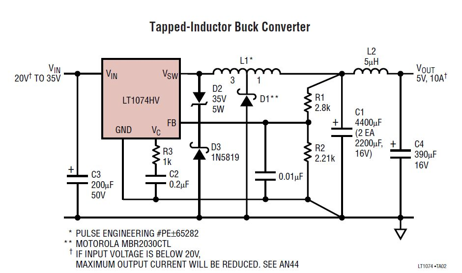 5v Power Supply Wiring Diagram