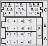 VDO Car Radio Stereo Audio Wiring Diagram Autoradio connector wire installation schematic schema