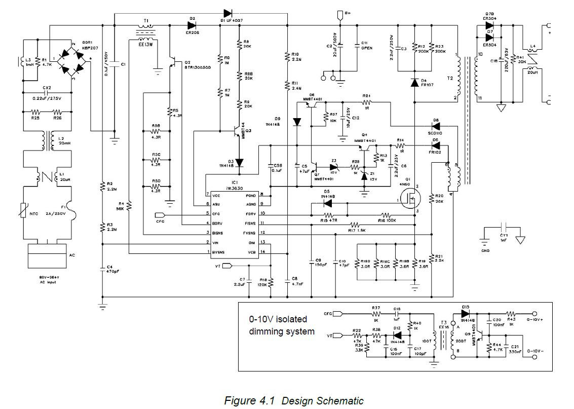 hight resolution of ac 230v led driver dimmer circuit diagram 0 10v or 0 10v dimmer wiring diagram lutron 0 10v dimmer wiring diagram