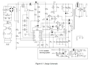 AC 230V LED Driver Dimmer circuit diagram 010V or Wireless isolated
