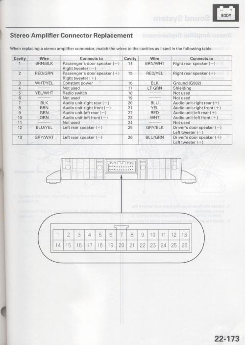 small resolution of acura 2002 tl car stereo amplifier wiring diagram harness jpg