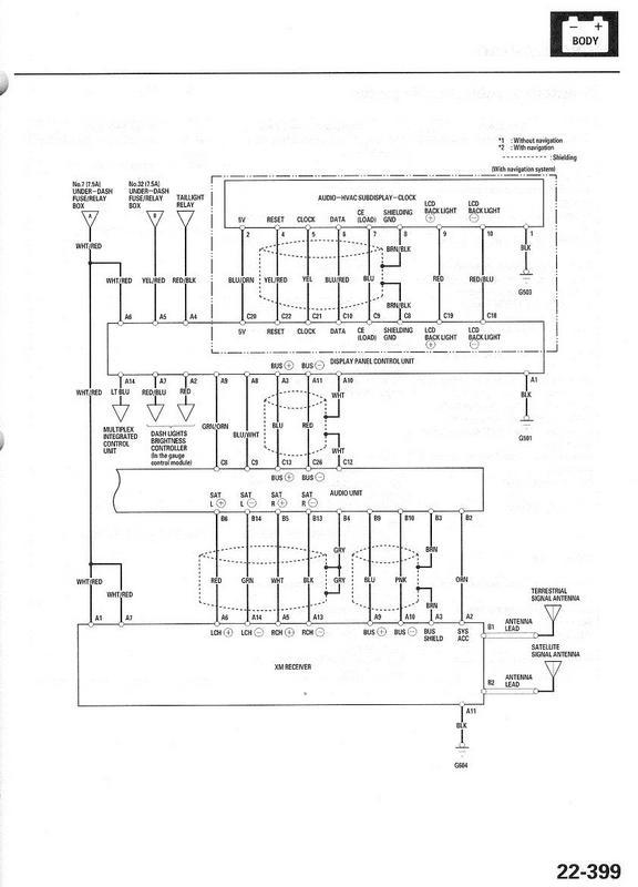 acura tl 2006 wiring diagram
