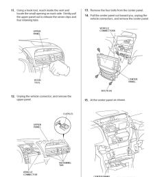acura tl radio panel removal center console installation replacement instructions [ 789 x 1023 Pixel ]