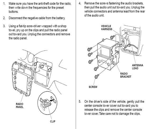 2006 Acura Tsx Speaker Wiring Car Radio Stereo Audio Wiring Diagram Autoradio Connector