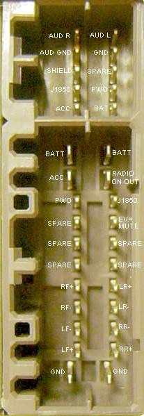 wiring diagram of car stereo honda goldwing 1200 chrysler radio audio autoradio connector wire installation schematic ...