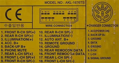 Daewoo Wiring Diagram