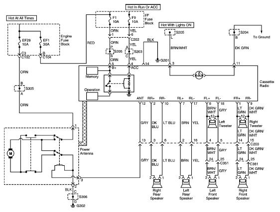 Схема проводки леганза