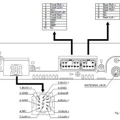 Wiring Diagram For Car Amplifier 7 Wire Thermostat Daihatsu Radio Stereo Audio Autoradio Connector Terios 2010 Cq Jd6981nt Panasonic Harness