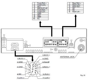 DAIHATSU Car Radio Stereo Audio Wiring Diagram Autoradio