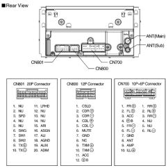 Toyota Hilux Stereo Wiring Diagram 2008 Unlabelled Of The Cranium Daihatsu Car Radio Audio Autoradio Connector Wire Installation Schematic ...
