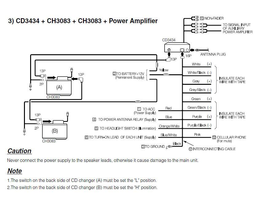 sony auto cd player wiring diagram tekonsha primus iq fujitsu ten car radio stereo audio autoradio connector
