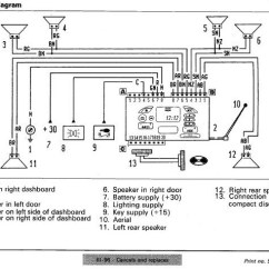 Mitsubishi Pajero Ecu Wiring Diagram Jazz Bass Brummt Fiat Car Radio Stereo Audio Autoradio Connector Wire Installation Schematic ...