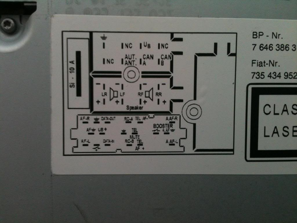 fiat ducato wiring diagram rickenbacker car radio stereo audio autoradio connector wire installation schematic ...