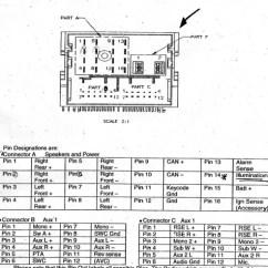 2003 Ford Windstar Wiring Diagram 1995 Isuzu Rodeo Car Radio Stereo Audio Autoradio Connector Wire Installation Schematic ...