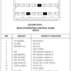 2005 Ford Focus Audio Wiring Diagram Solar Panel Inverter 6000 Cd Radio Harness