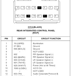 2005 ford expedition stereo wiring diagram [ 1200 x 1684 Pixel ]