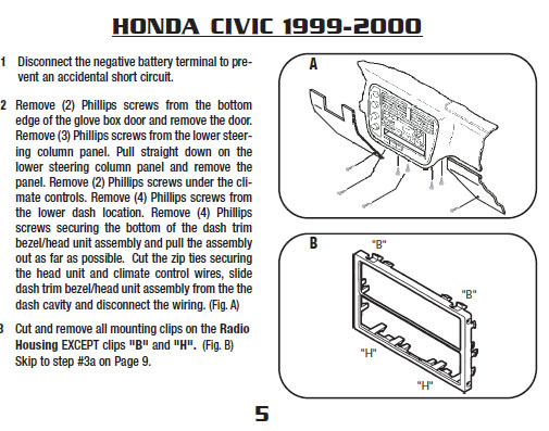 1996 honda civic radio wiring diagram 2005 ford explorer cd player car stereo audio autoradio connector wire installation schematic ...