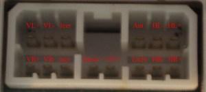 JAGUAR Car Radio Stereo Audio Wiring Diagram Autoradio connector wire installation schematic