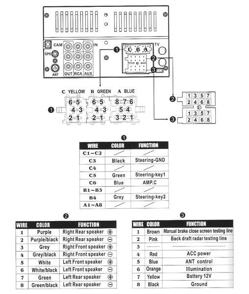 wiring diagram car audio redarc solenoid stereo kia online radio autoradio connector wire suzuki