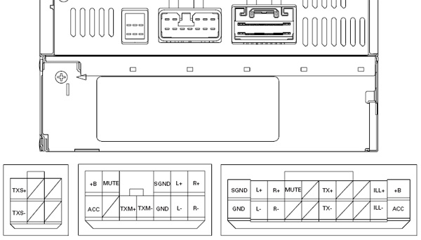 pioneer avh p3100dvd strat wiring diagram sss car radio stereo audio autoradio connector wire installation schematic ...