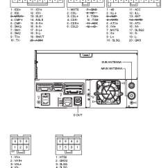 2010 F150 Stereo Wiring Diagram Ford Mondeo Alternator Faults Pioneer Car Radio Audio Autoradio Connector Wire Installation Schematic ...