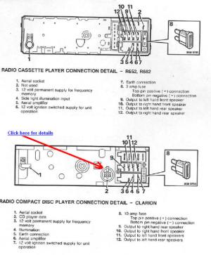 LAND ROVER Car Radio Stereo Audio Wiring Diagram Autoradio connector wire installation schematic